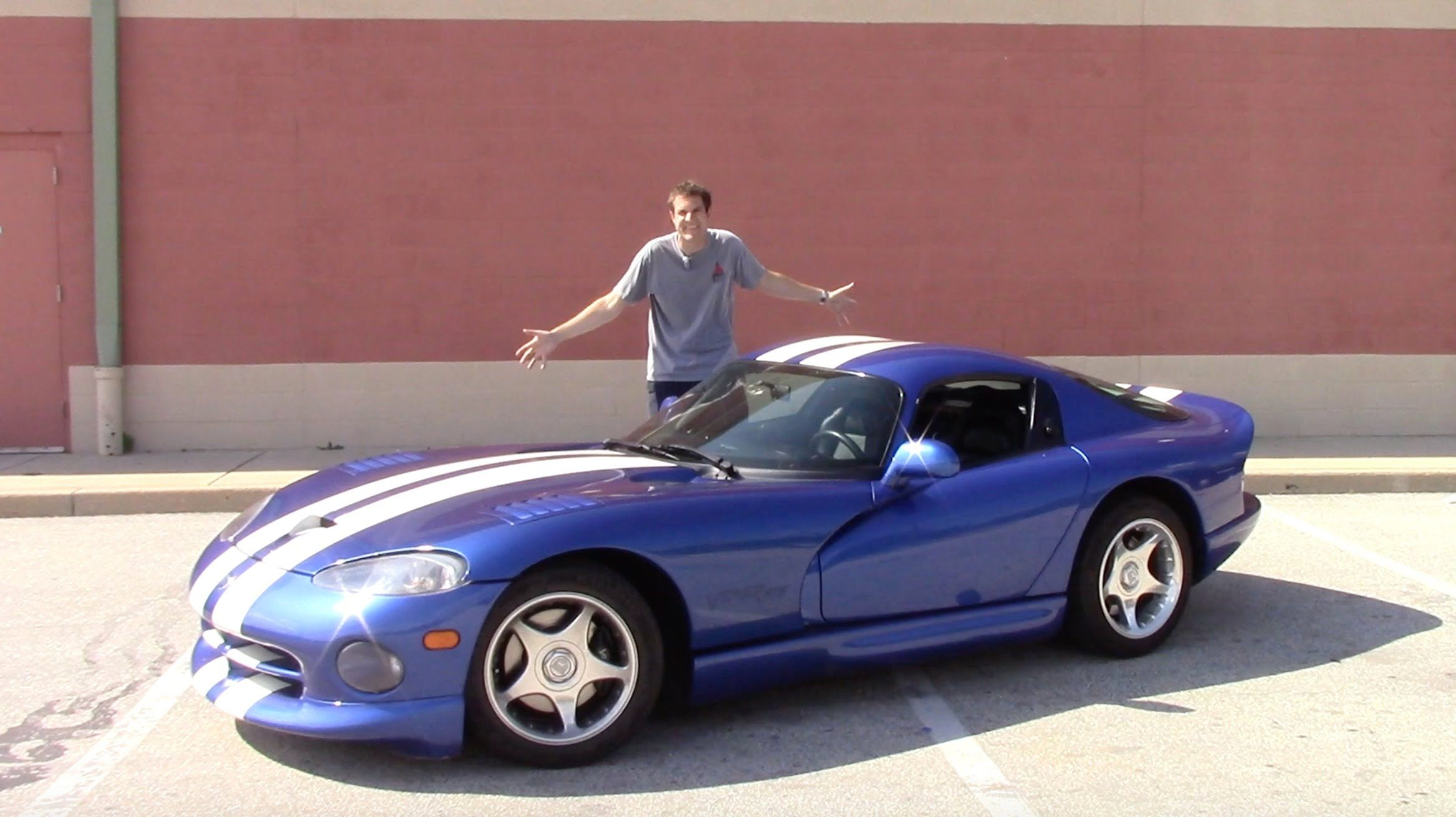 cool Car and Truck videos - I Bought a Dodge Viper And Drove It 500 ...