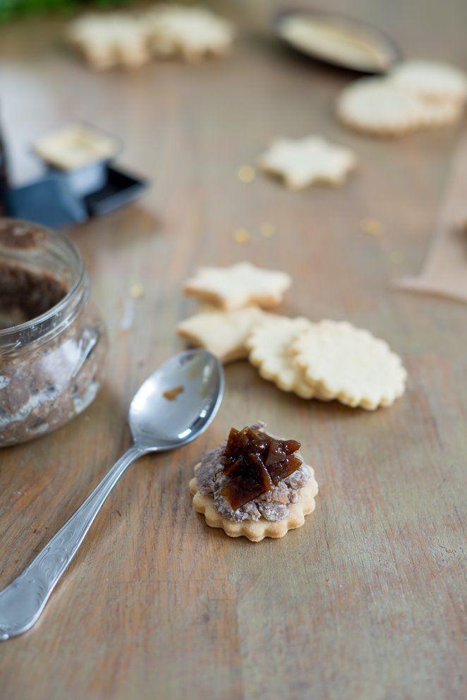 Herzhafte Weihnachtsplätzchen oder meine Amuse-bouches für die Feiertage     Rezept   Französisch kochen