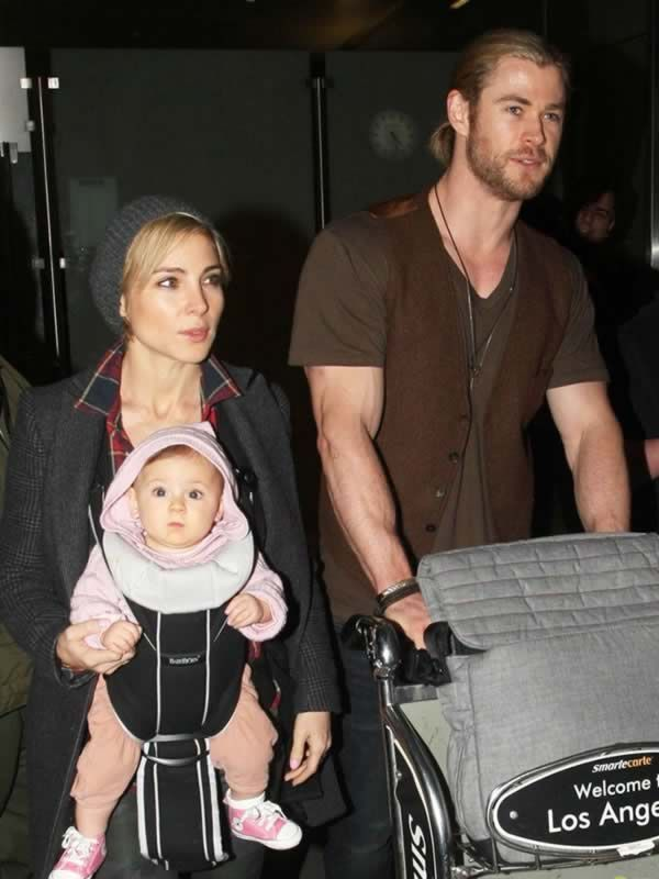 who is chris hemsworth dating today