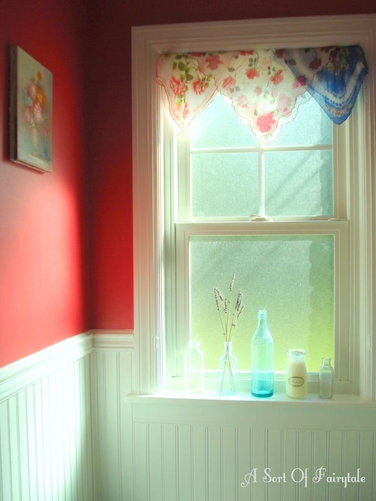 Frilly No Sew Valances Show Off A Collection Of Old Fashioned