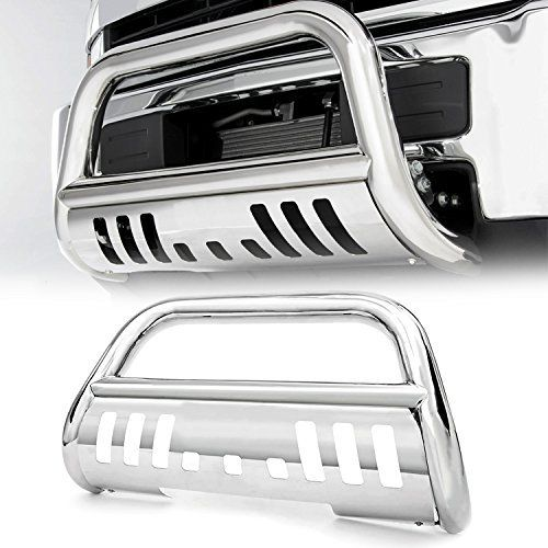Amazon Com Stainless Bull Bar Grille Guard For 2002 2005 Dodge Ram 1500 2003 2009 Dodge Ram 2500 3500 2006 2008 Dodge R Bull Bar Dodge Ram 2500 Ram Mega Cab