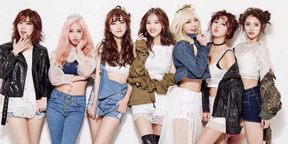10 Idol Groups That Became Victims To The 7 Year Jinx Kpop Girls Rainbow Prism Pop Dance