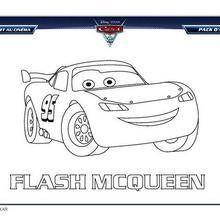 coloriage flash mac queen 2