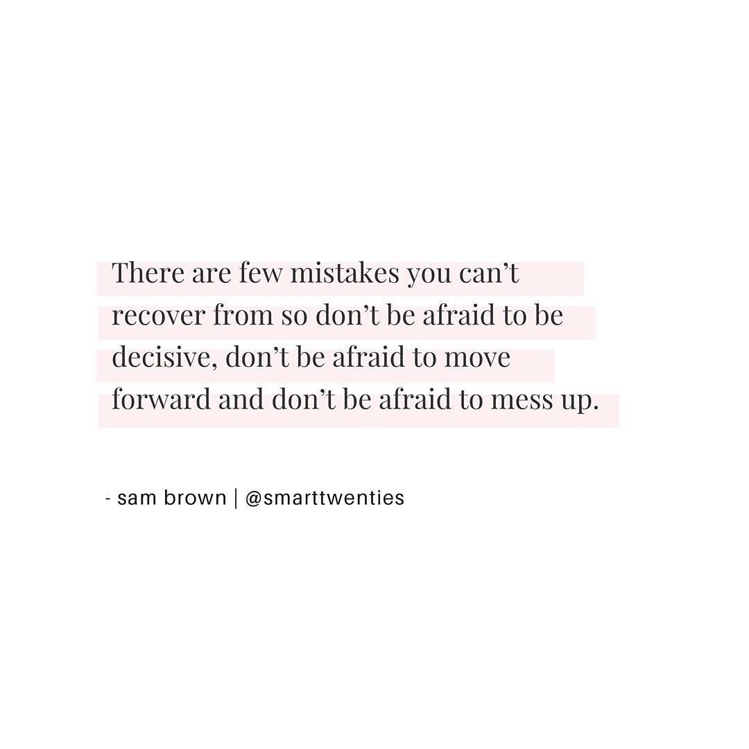 Motivational Quote From Smarttwenties About Making Decisions And Figuring Out What To Do With Your Life Quot Decision Quotes Life Decision Quotes Done Quotes