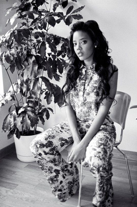 Angela Simmons for LadyGunn Magazine