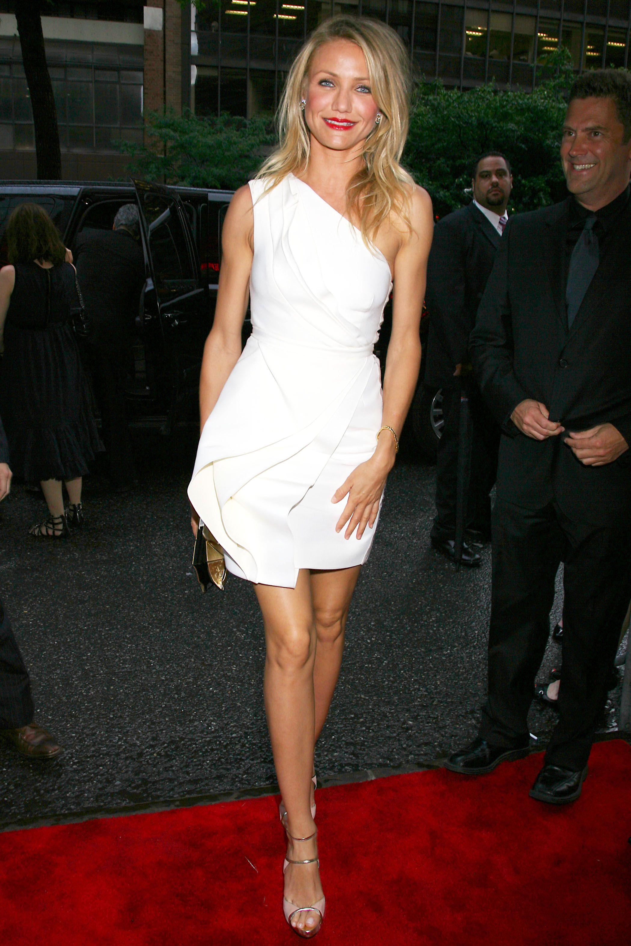 World Premiere of Warner Brothers My Sister's Keeper. J Mendel dress.