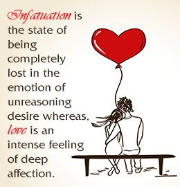 What Does It Mean To Be Infatuated With Someone