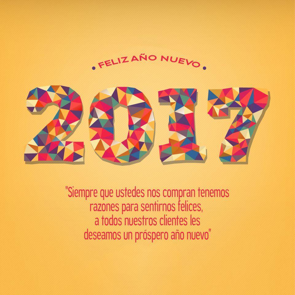 Feliz Año Nuevo 2017 Frases Para Clientes Año Nuevo 2017