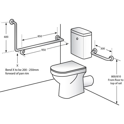 Image Result For Grab Rails Disabled Toilets Toilet Toilet Paper Holder Toilet Paper