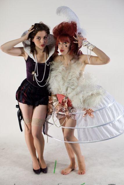 Rococo + ELizabethan Pin-Up by ~rifa on deviantART