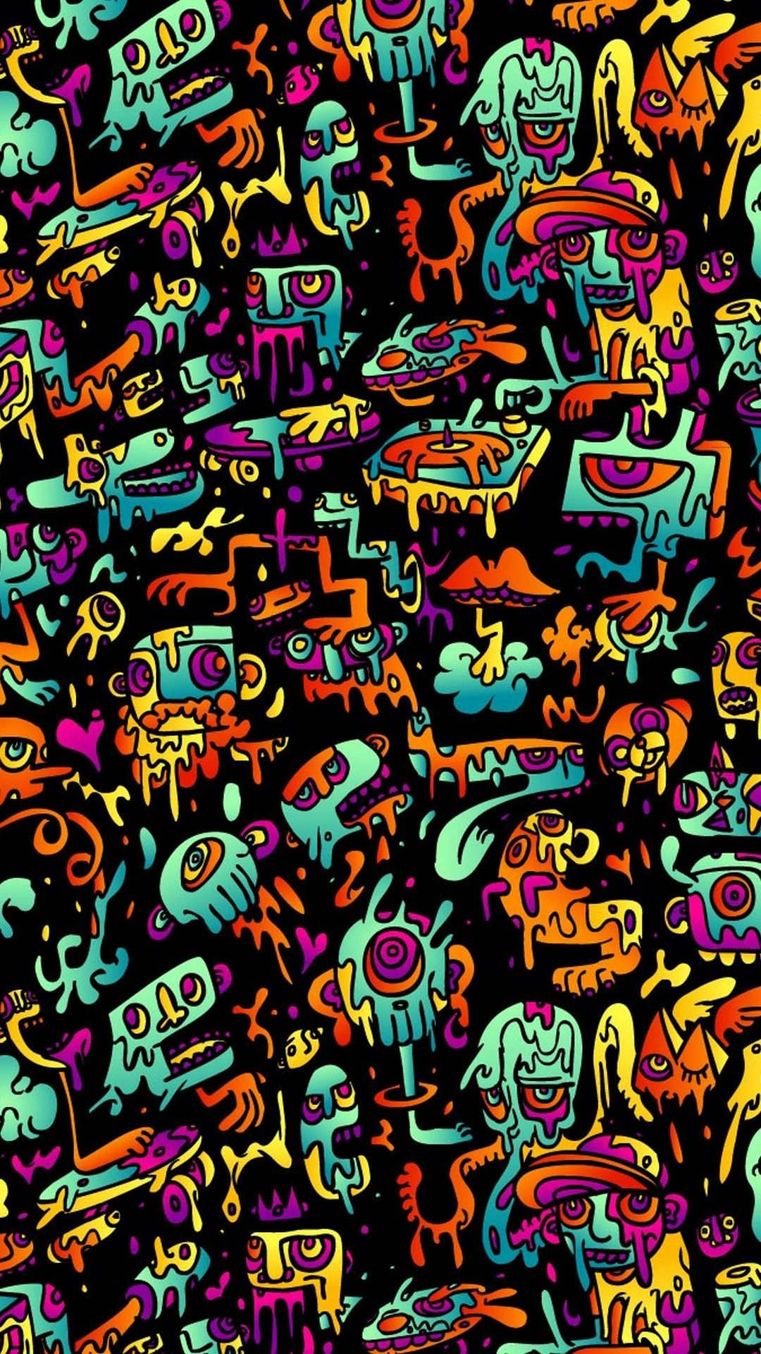 Psychedelic Backgrounds For Android Best Android Wallpapers Abstract Wallpaper Psychedelic Background Trippy Wallpaper