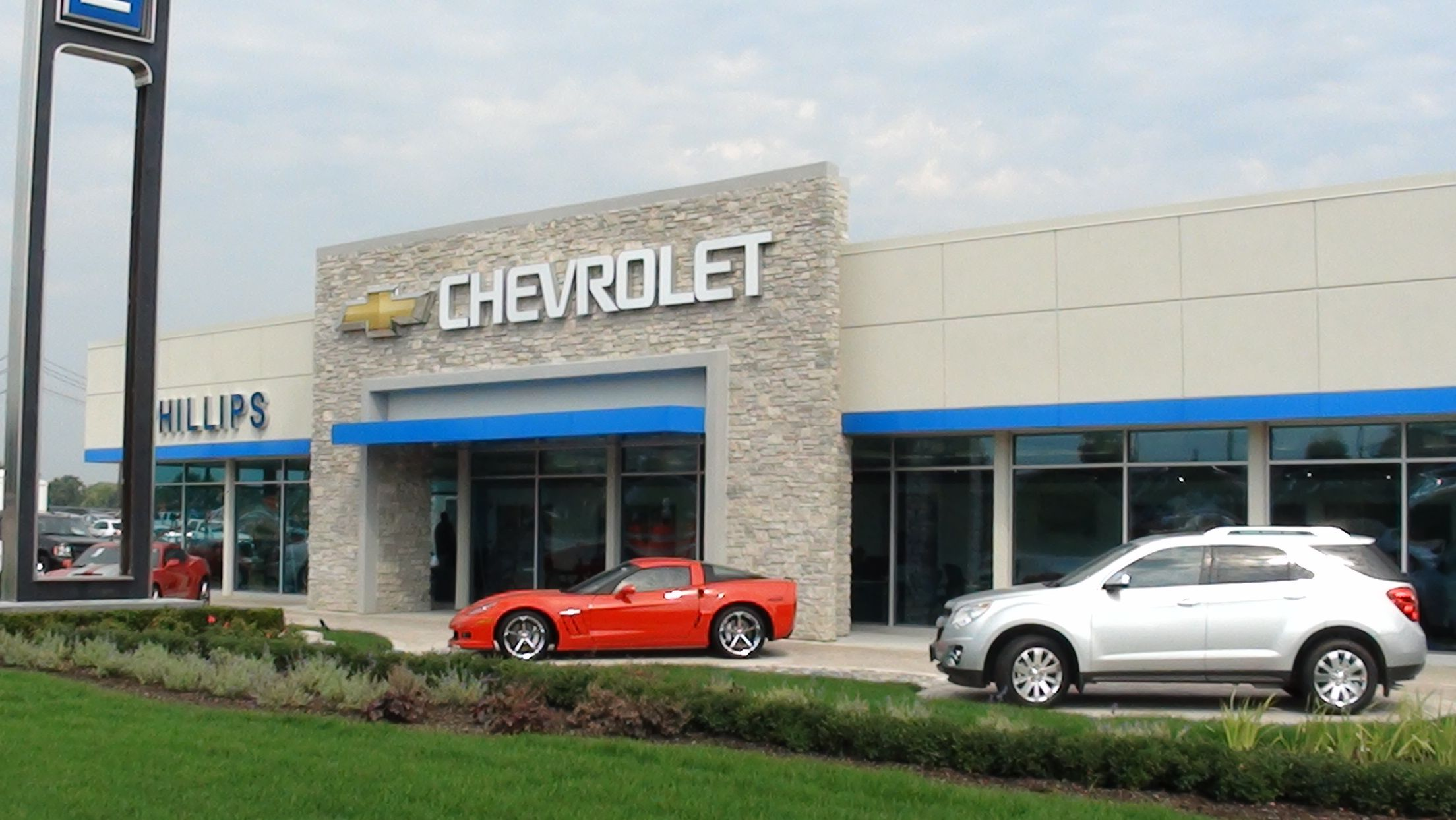 Phillips Chevrolet of Lansing Now Open Torrence Ave Lansing