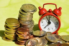 čas Sú Peniaze Mince Mena Euro Paying Off Mortgage Faster Debt Management Plan Debt Management