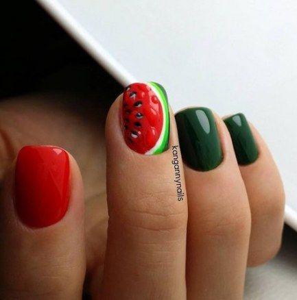 27 trendy fails design easter simple  fruit nail art