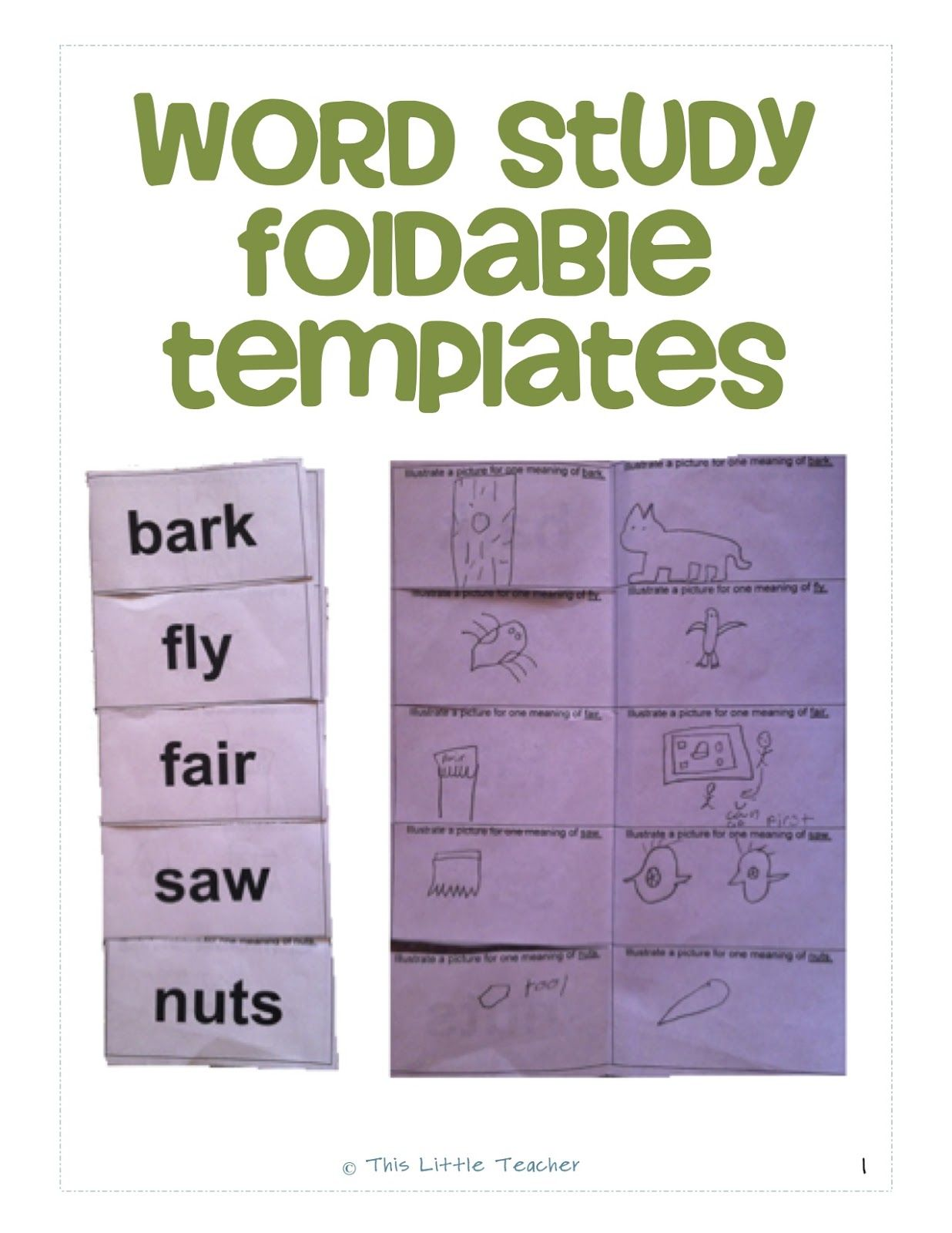 Word study foldable templates homophones homographs synonyms word study foldable templates homophones homographs synonyms antonyms prefixes suffixes biocorpaavc