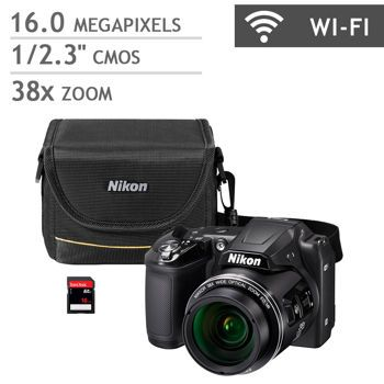 Nikon Coolpix L840 Digital Camera Bundle