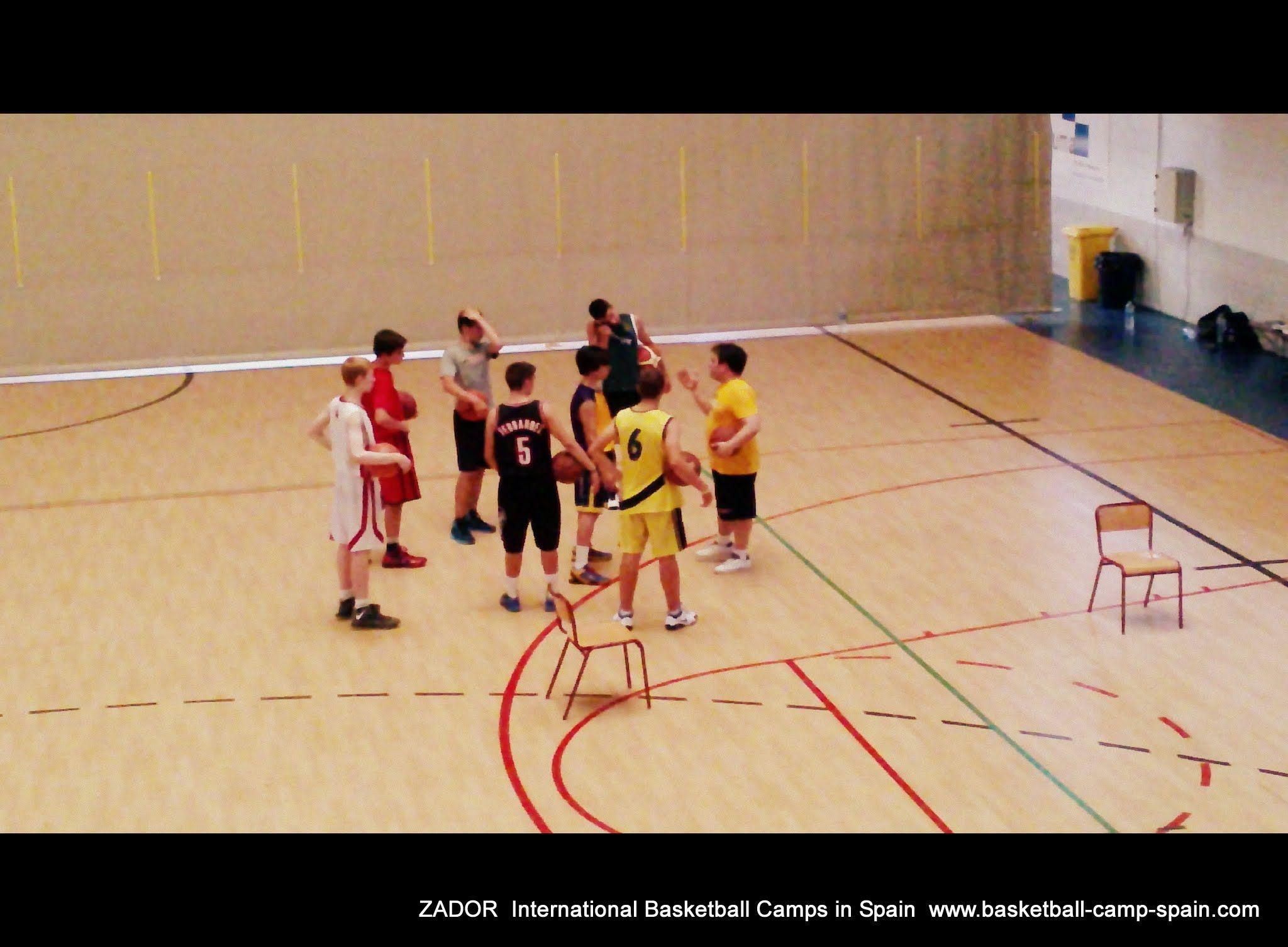 International Basketball Camp ZadorSpain 2012
