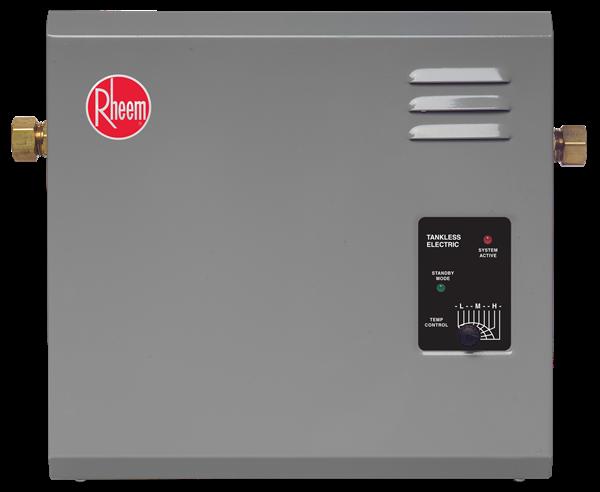 Rheem Tankless Electric Water Heater Rte 27 Series Electric Water Heater Tankless Water Heater