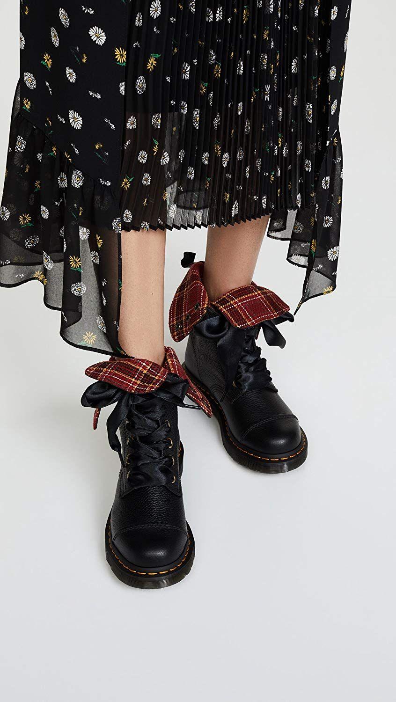 Dr. Martens Aimilita, Bottes Hautes Femme  Amazon.fr  Chaussures et Sacs f76f87b0cbe