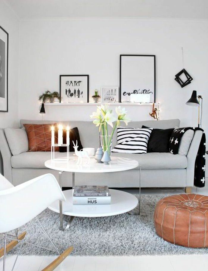 Perlgrau Ist Eine Passende Farbe Für Dem Sofa, Zwei Wandbilder, Vase Und  Drei Kerzen | Originelle Farbideen Für Jedes Zimmer | Pinterest | Ikea  Pictures, ...