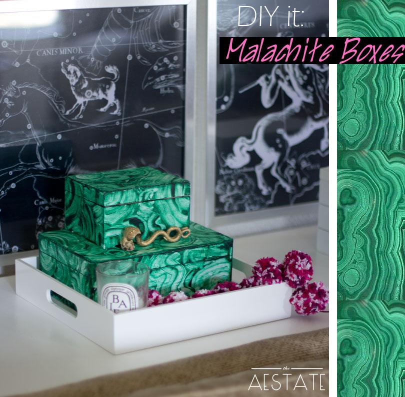 malachite boxes