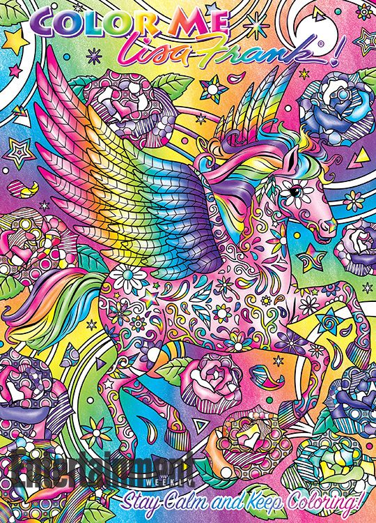 Get Ready To Bust Out The Neon Gel Pens A Lisa Frank Coloring Book For Adults Is On Way Color Me