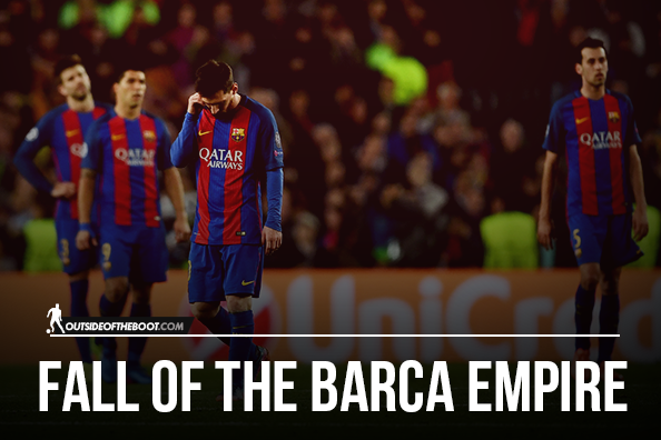 Decline and Fall of The Barcelona Empire | Outside of the Boot