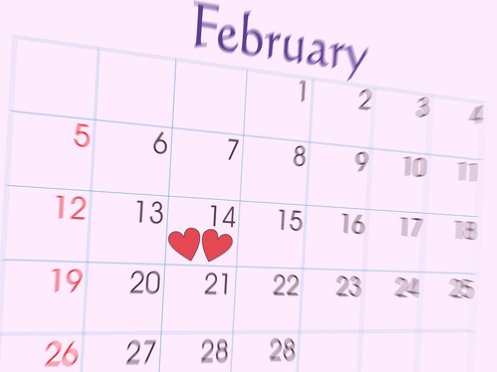 February Backgrounds Group