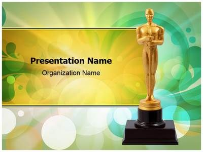 Oscar cup powerpoint template is one of the best powerpoint oscar cup powerpoint template is one of the best powerpoint templates by editabletemplates toneelgroepblik Images