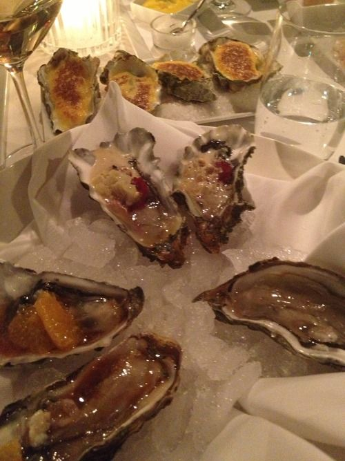 Oysters 4 ways