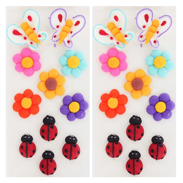 Summer 1 Royal Icing Decorations By Gsa These Help Keep A Birthday Party Simple And