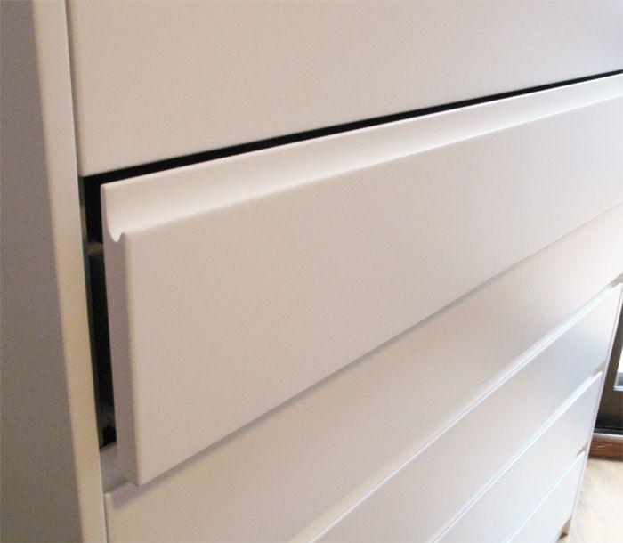 detalle del tirador tipo uñero | cocinas | Pinterest | Muebles de ...