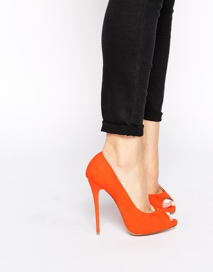 ASOS COLLECTION ASOS PENZANCE High Heels with Peep Toe