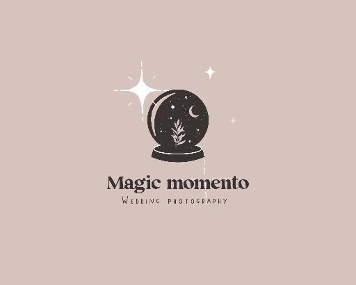 Photo of Magic crystal logo/withcy logo/mystical logo!