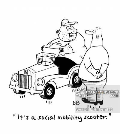 Mobility Scooter Safety Cartoons