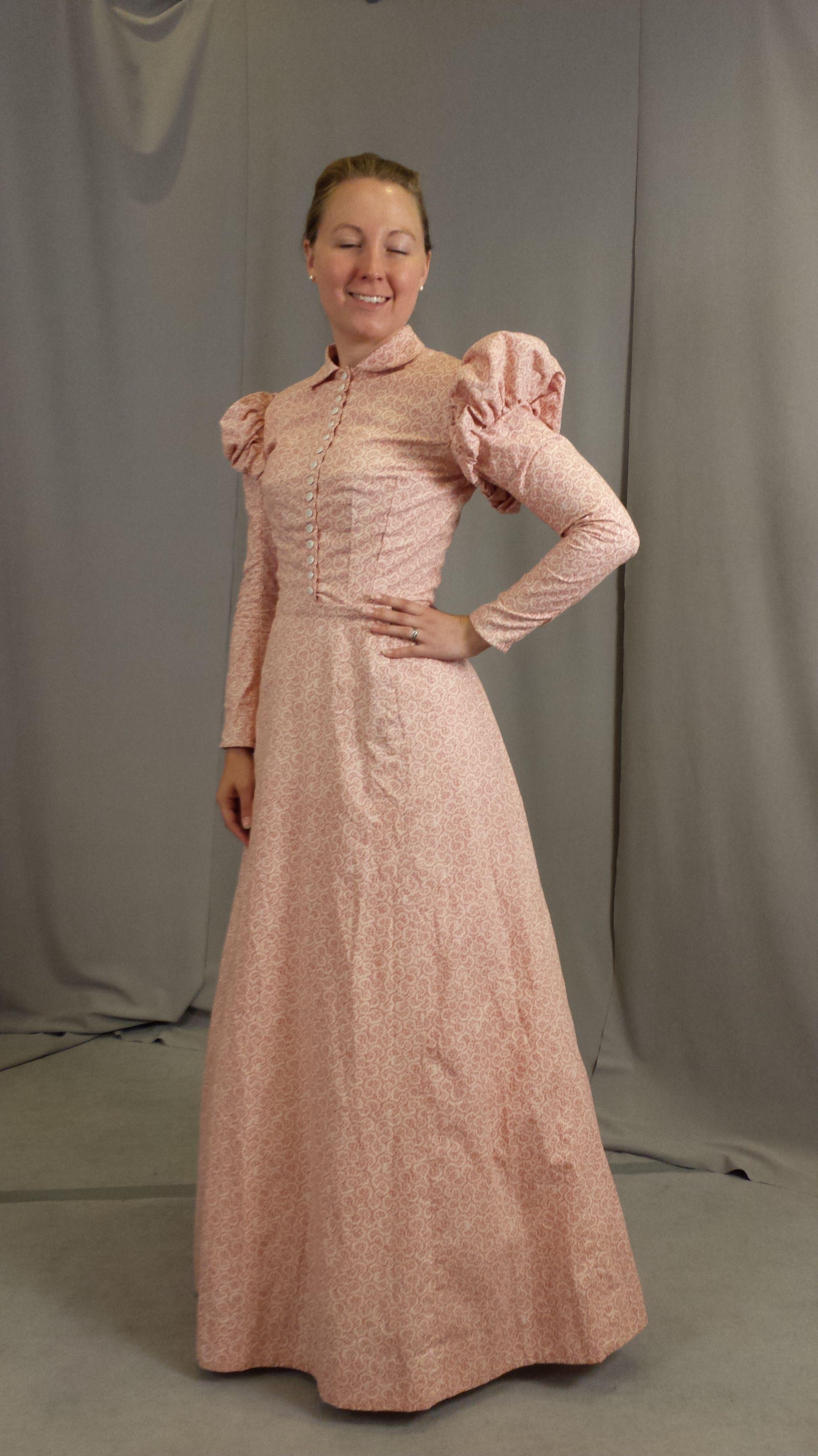An 1890 S Housedress Workdress Frontier Town Dress Thing Dresses House Dress 1900s Dress [ 4128 x 2320 Pixel ]