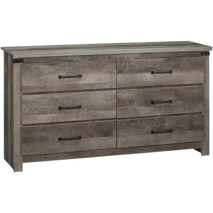 Slumberland Furniture Gambrel Driftwood Dresser