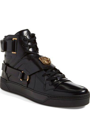GUCCI  Tiger  High Top Sneaker (Men).  gucci  shoes    64d4c0d40aa