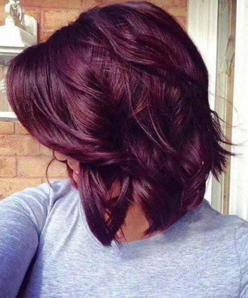 45+ Short burgundy hair inspirations