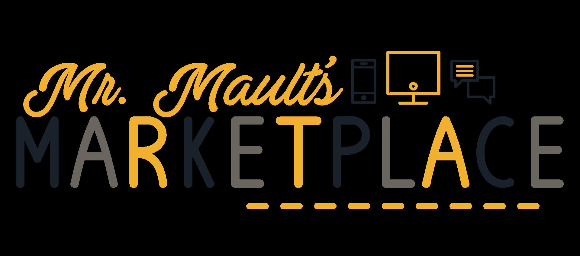 Mr. Mault's Marketplace in 2020 Google classroom math