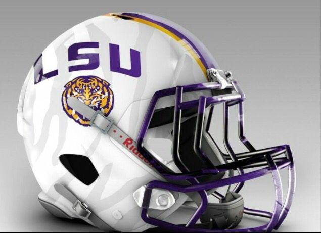 Future Lsu Football Helmet Football Helmets Lsu Football Lsu Tigers Football