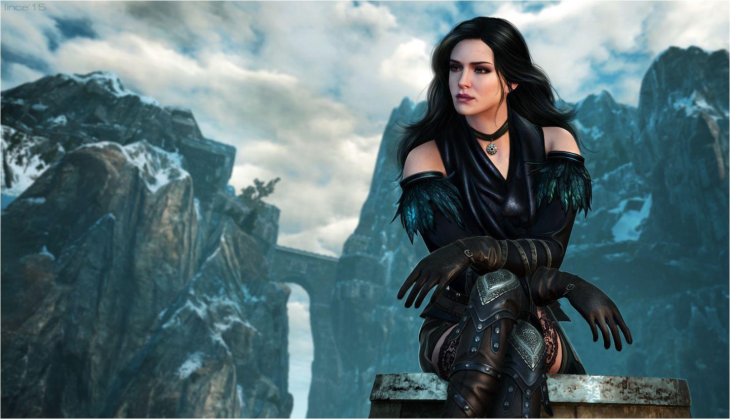 The Witcher 3. Yennefer by linceeslanieva on DeviantArt
