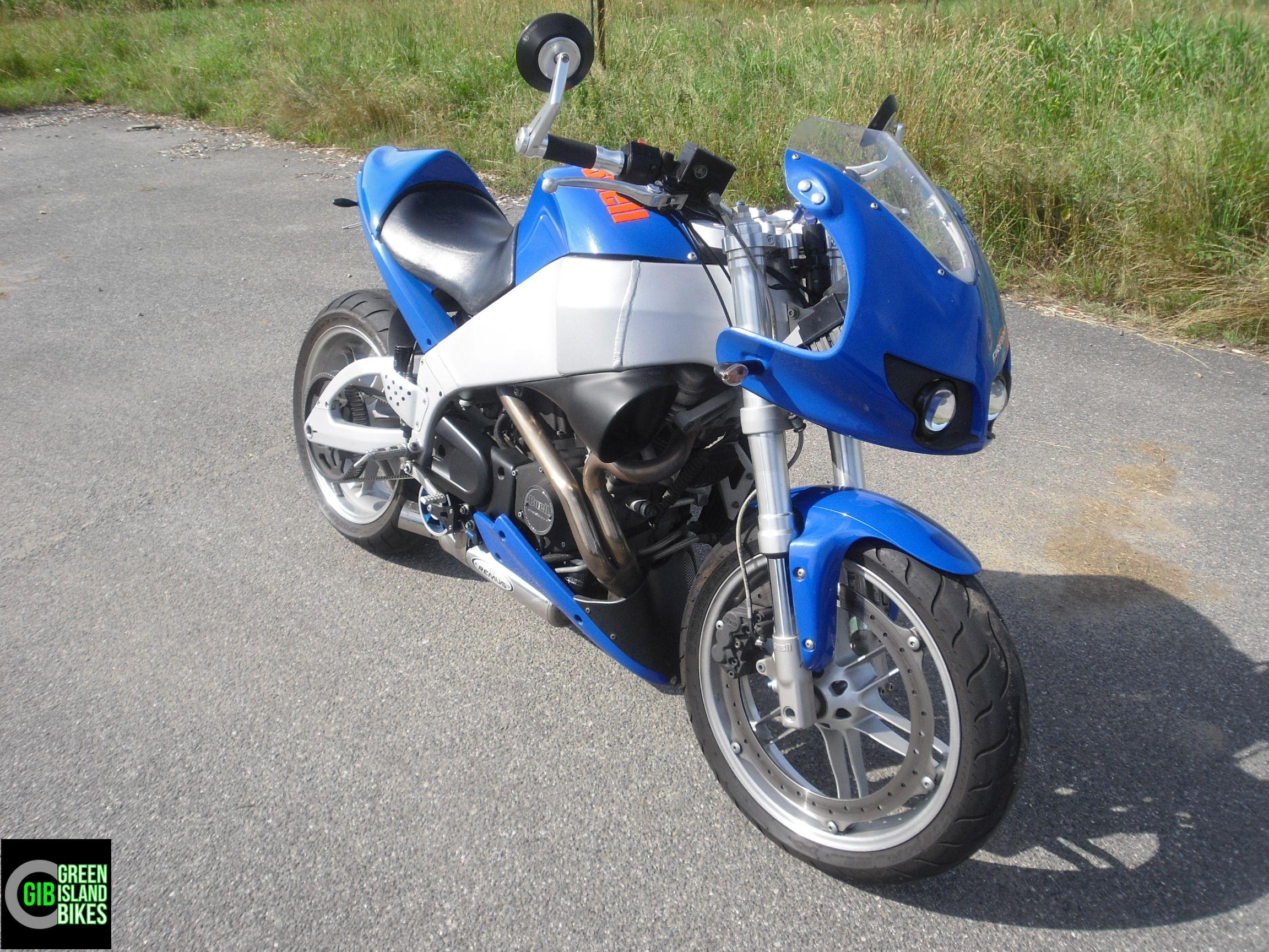 Buell XB 9 R Firebolt mit Lightning Heckumbau.... http://www.green-island-bikes.de/