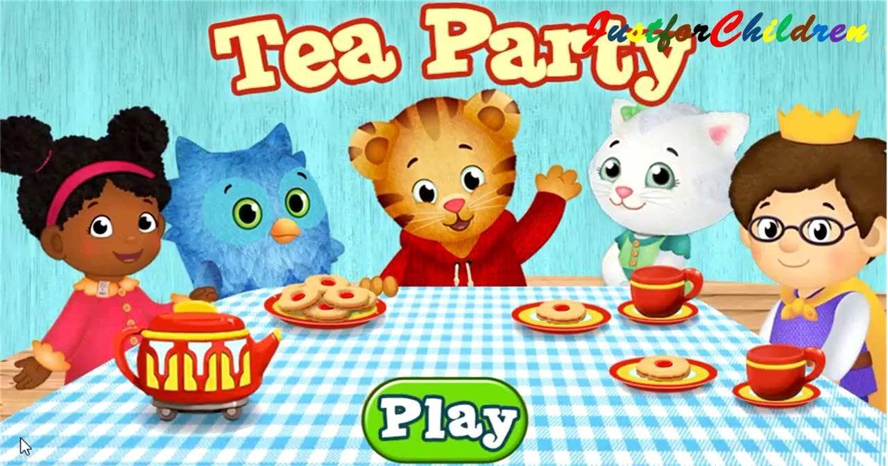Daniel Tiger\'s Neighborhood TEA PARTY - Fun Video Games for Kids ...