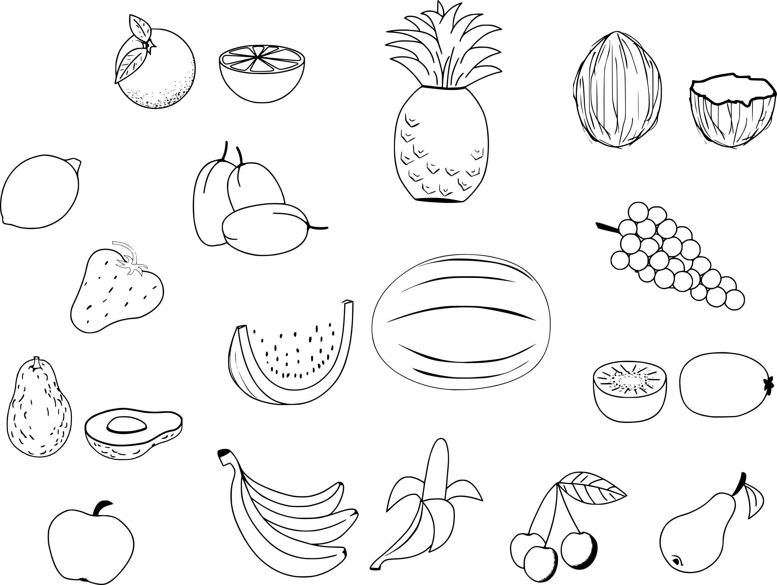 Beautiful coloring fruit and legume to print fairy coloring pages fruit coloring pages coloring