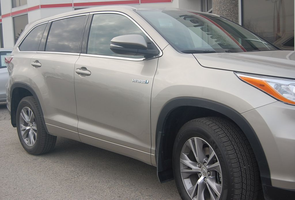 Toyota Highlander one of the best suv with 3rd row