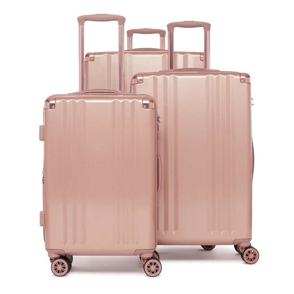 88147549c The CALPAK Ambeur 3-piece luggage set features 8 multi-directional spinner  wheels that offer effortless mobility, a retractable handle, and is  expandable ...