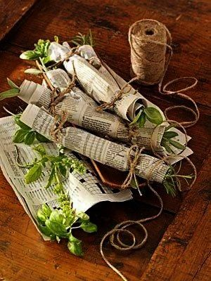 flavor all year by learning how to dry herbs Find various methods and helpful tips for how to dry fresh herbs and how to make a fragrant fire starter after drying fresh h...