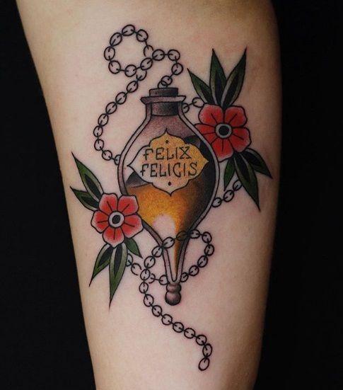 35 Enchanting Harry Potter Tattoos
