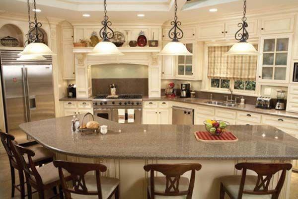 quartz countertops kitchen island with seating kitchen island designs with seating kitchen on kitchen island ideas kids id=31981